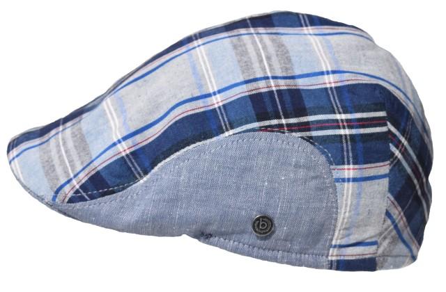 Schiebermütze-Bugatti-Flatcap-karo-patchwork-Seite